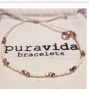 PURAVIDA Aspyn Gorgeous Seed Bead Bracelet NEW